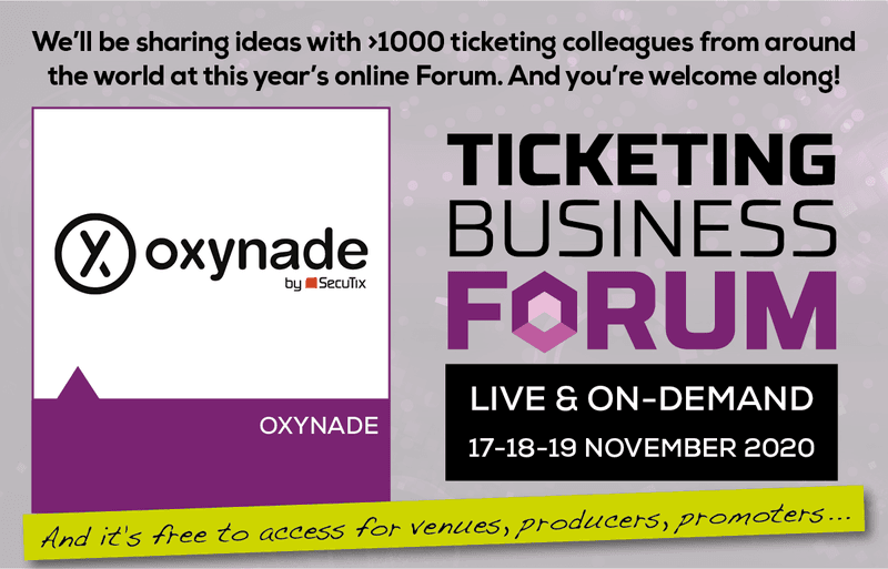 The Ticketing Business Forum 2020