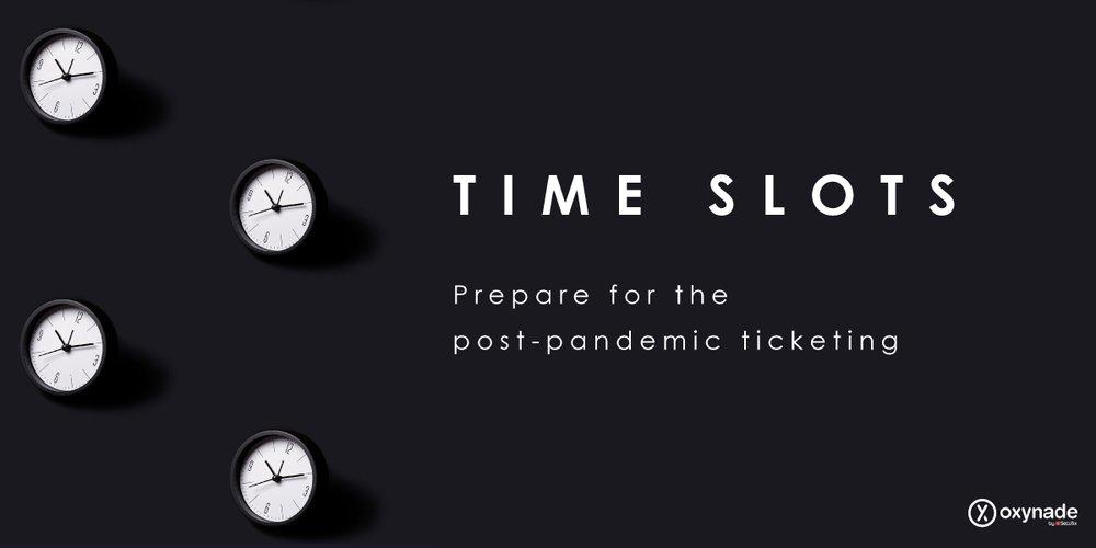 Timeslots Social Distancing Oxynade Ticketing Platform