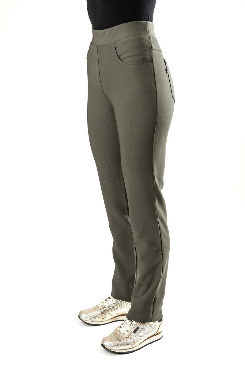 broeken met elastische tailleband