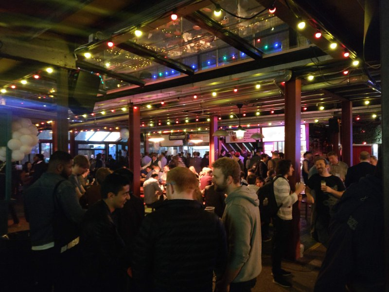 Dinerama — The venue for the Google Cloud Next Startup Afterparty