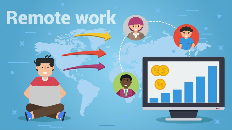 Remote workers contribute to business goals