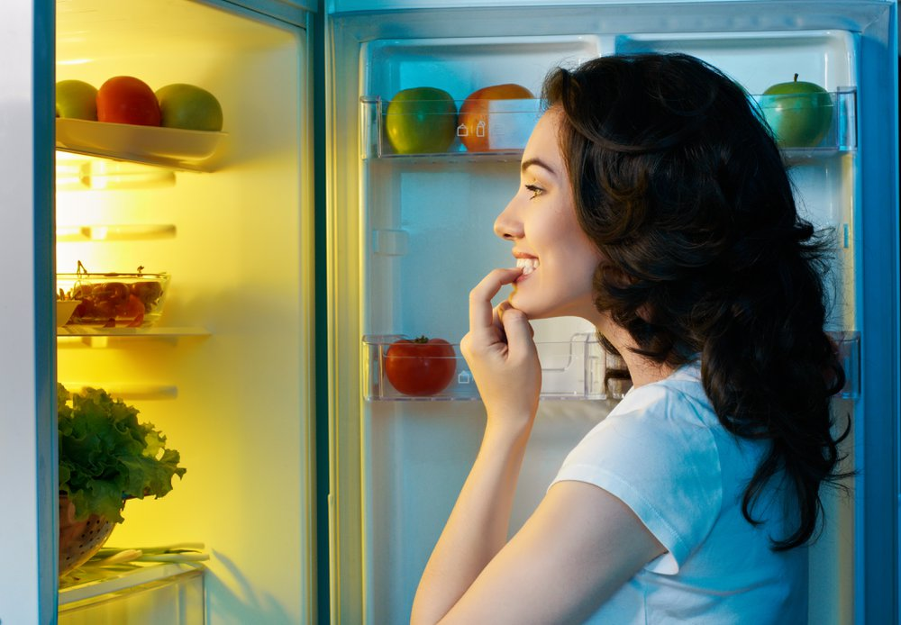Keeping the fridge closed is one of many ways to conserve energy