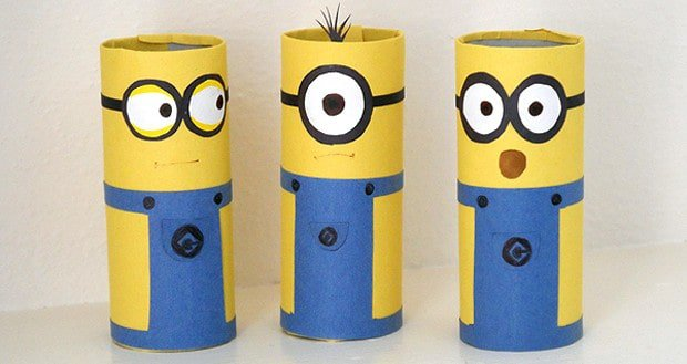 Toilet Paper Roll Crafts to Do With Your Kids | Reel Talk