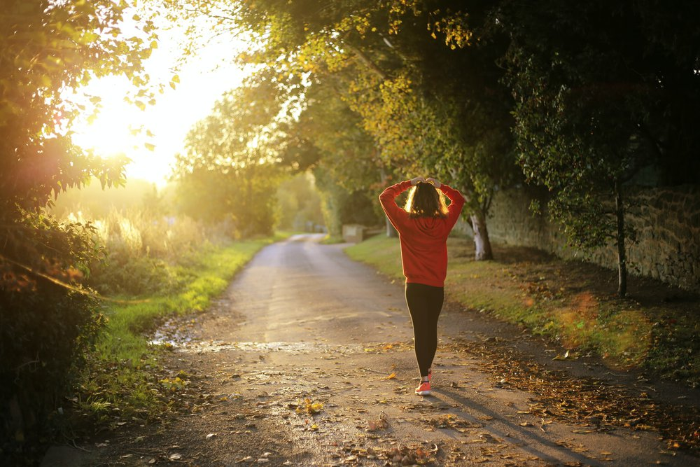 Exercise is a great resolution for learning how to live sustainably.