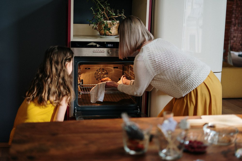 Cooking cold-weather recipes with the family