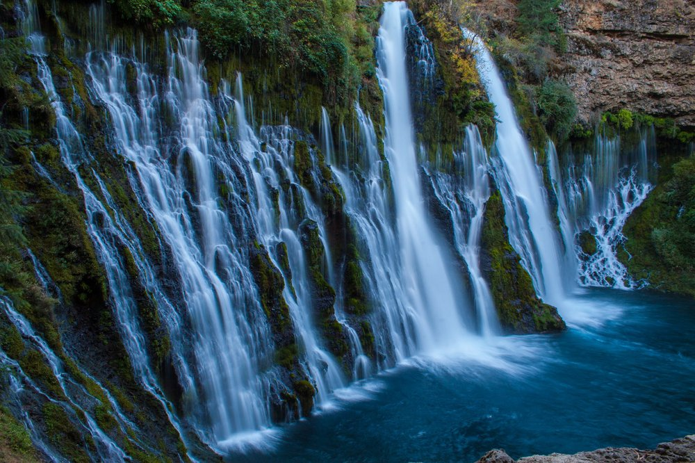Burney Falls in Shasta County, one of the best places to visit in California