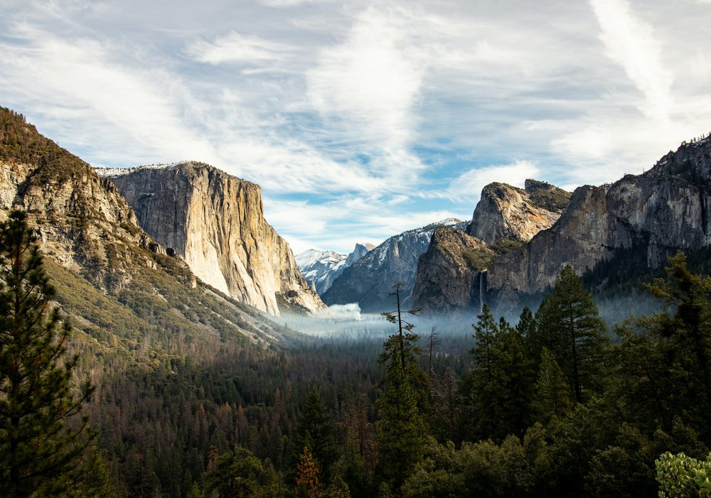 Yosemite Valley — one of the best places to visit in California