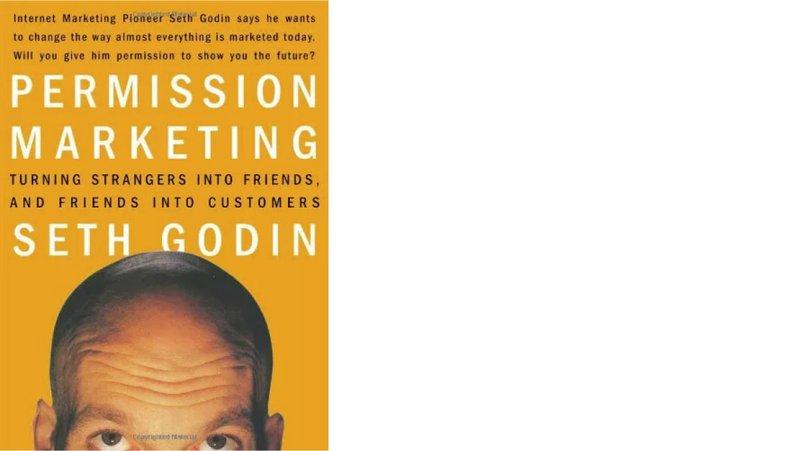 permission marketing by seth godin book cover digital marketing books