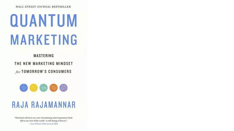 quantum marketing by raja rajamannar book cover top strategy books