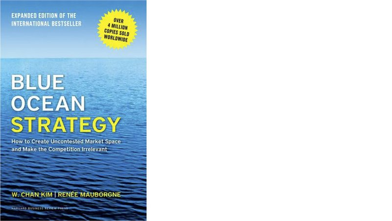blue ocean strategy book cover best strategy books