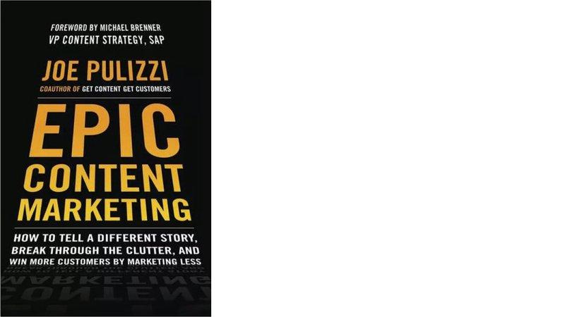epic content marketing books cover