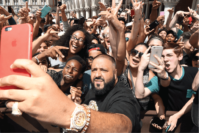 DJ Khaled influencer social media takeover las vegas