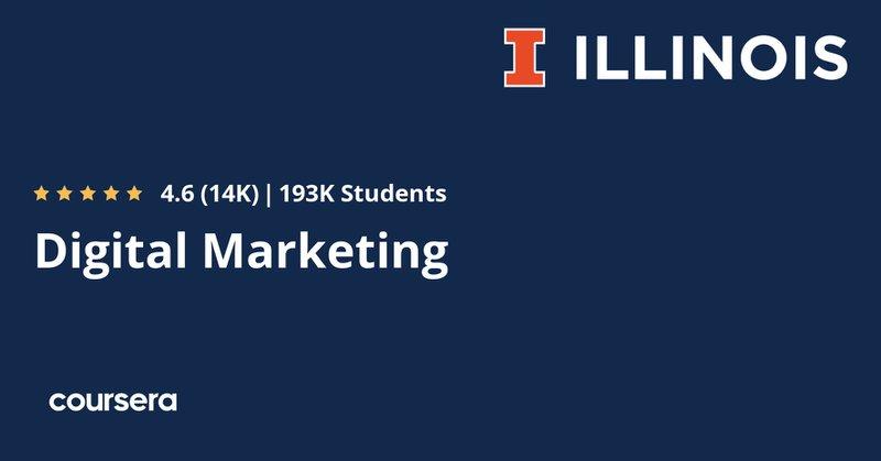Digital marketing illinois course