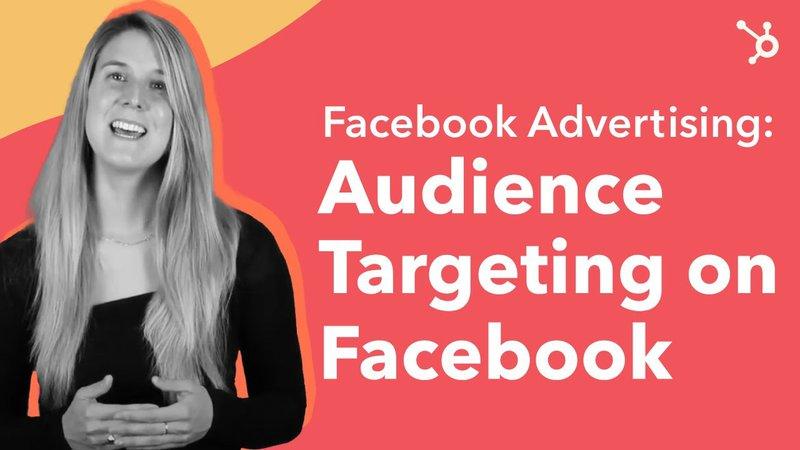 Facebook advertising course on Hubspot