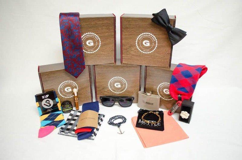 Gentlemans box ecommerce subscription