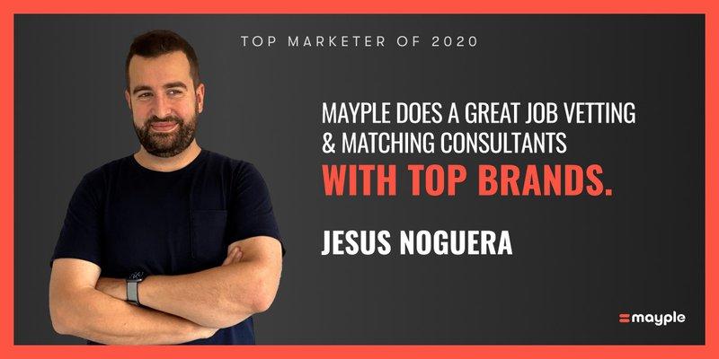jesus noguera mayple top marketer 2020
