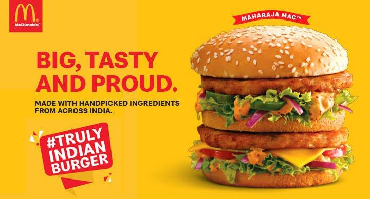 McDonalds India Big Mac