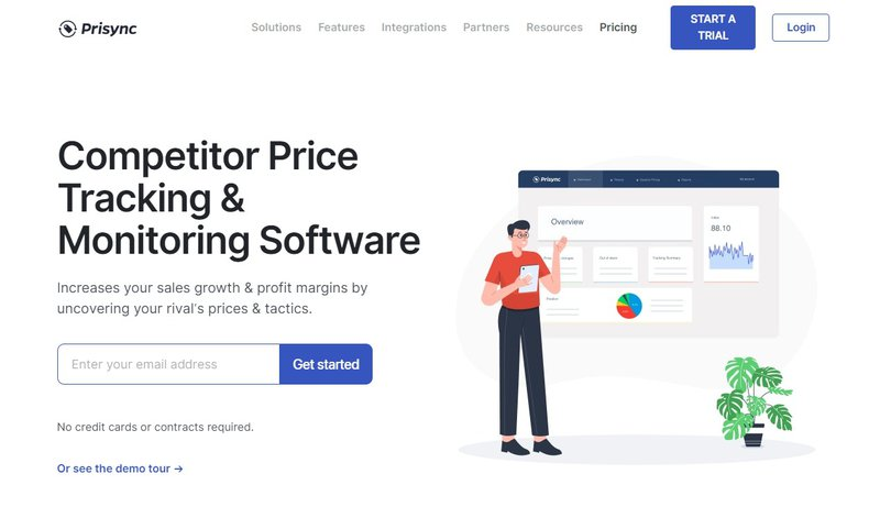 prisync pricing automation tool platform for ecommerce