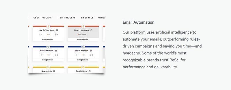 ReSci AI email automation platform