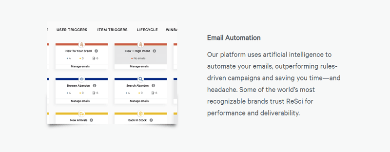 retention science email automation tool