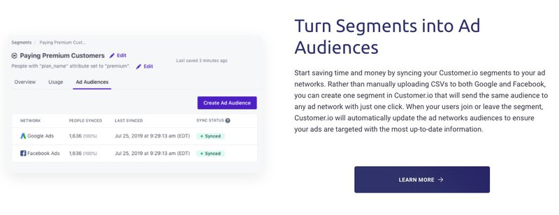 turn segments into audiences ecommerce automation
