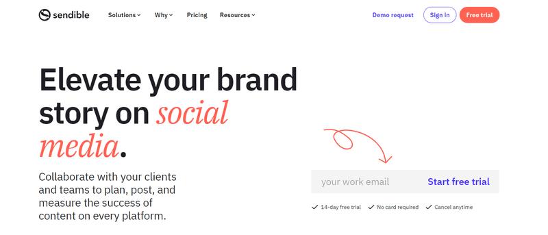 Sendible social media tool