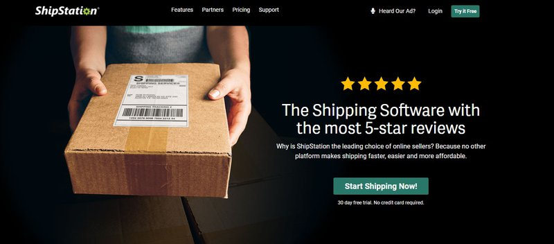 ShipStation shipping automation for ecommerce
