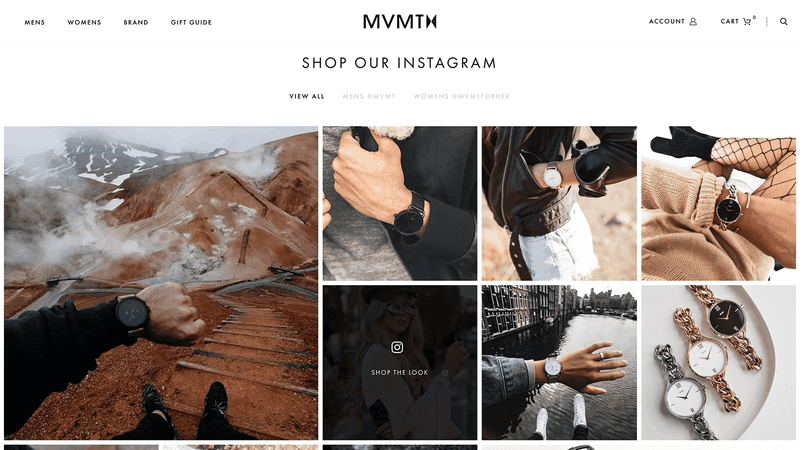 Shoppable Instagram User generated campaign UGC App FourSixty