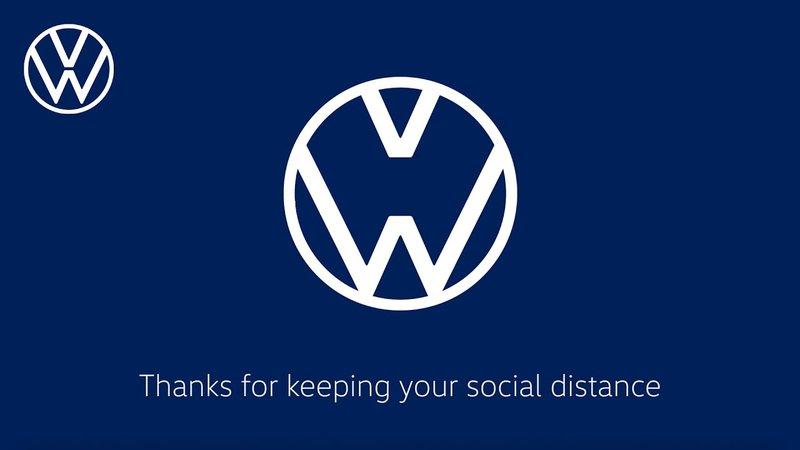 Volkswagen new covid logo