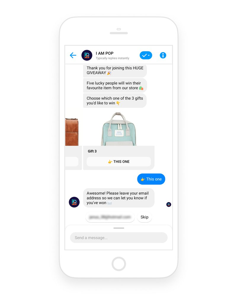 Viral-giveaway-Featured-Flow-in-Messenger