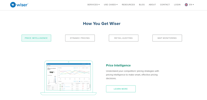 wiser pricing automation tool for ecommerce marketing