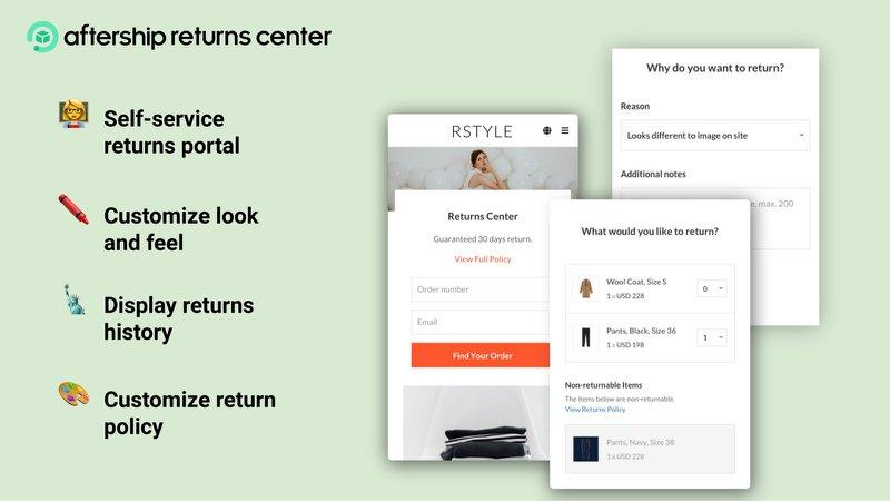 ership returns center for shopify