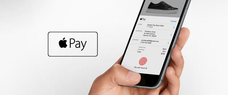 applepay banner 3rd party checkout payment options ecommerce
