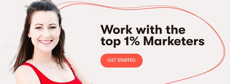 the top marketing freelancers anywhere. find them all here