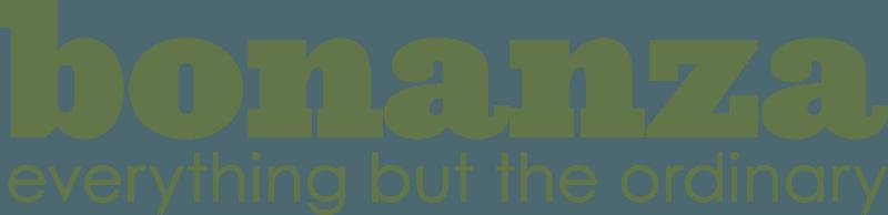 bonanza logo banner marketplace high res green