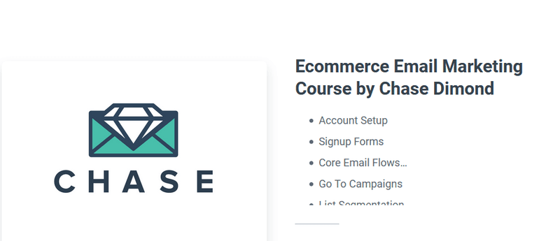 chase dimond email course