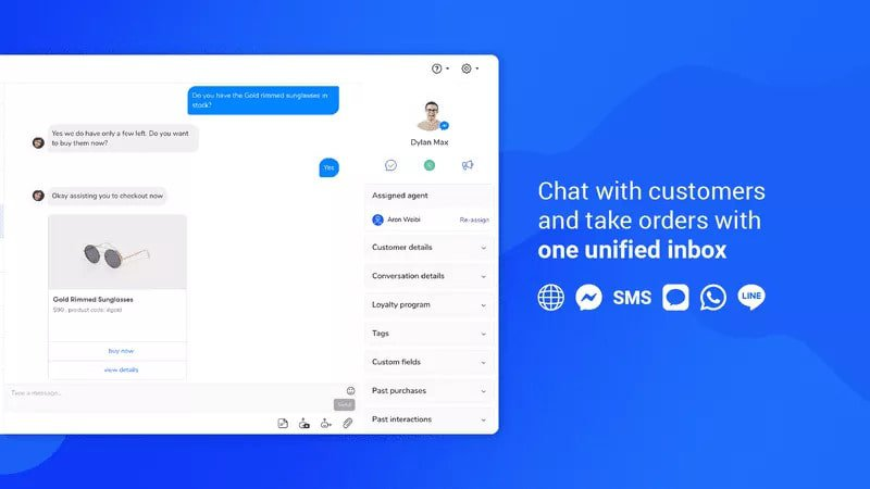 ecommerce chatbot tool inbox image example