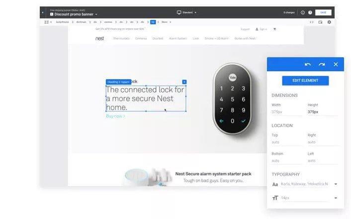 ecommerce google optimizer test example