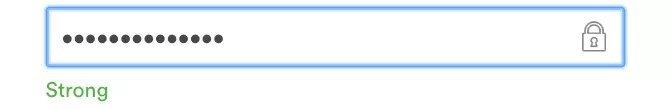 ecommerce password image example