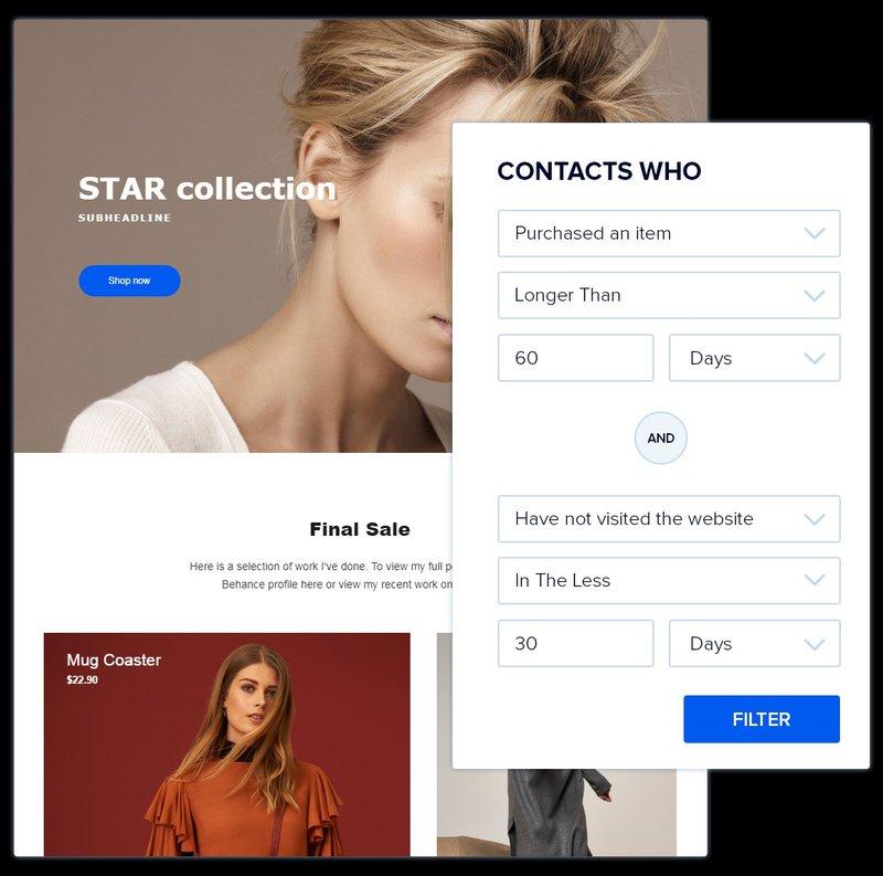 email marketing automation example ecommerce