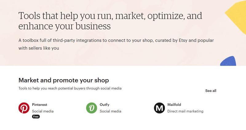 etsy integrations marketplace ecommerce marketing
