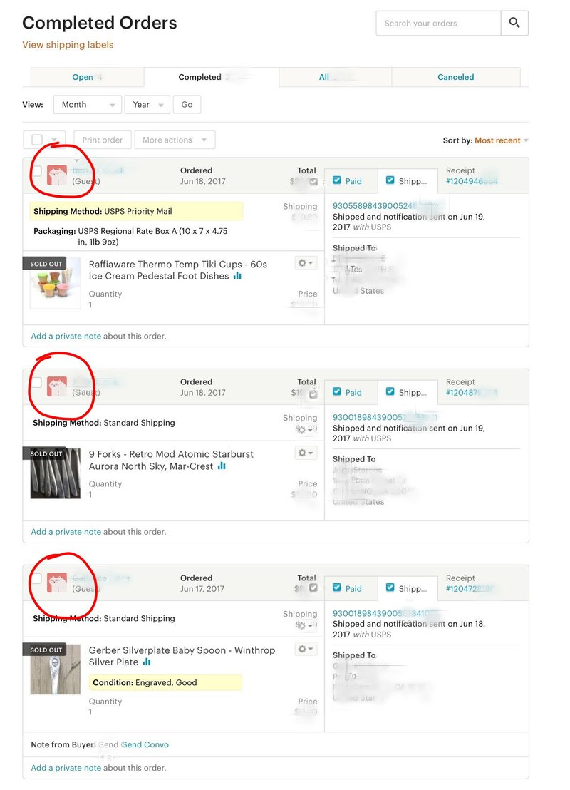 Etsy guest checkout example cro
