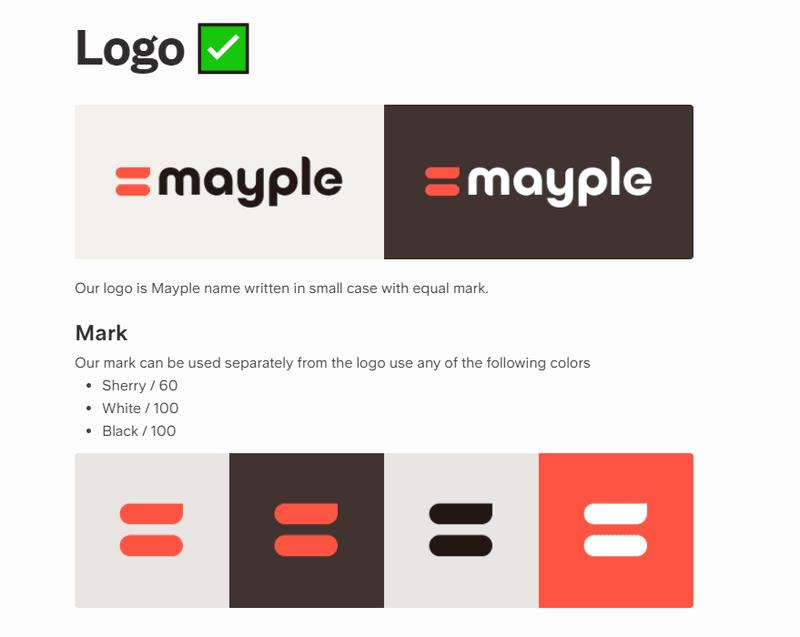 logo design guidelines for the brand