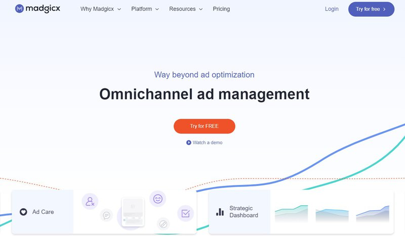 madgicx ad platform automation