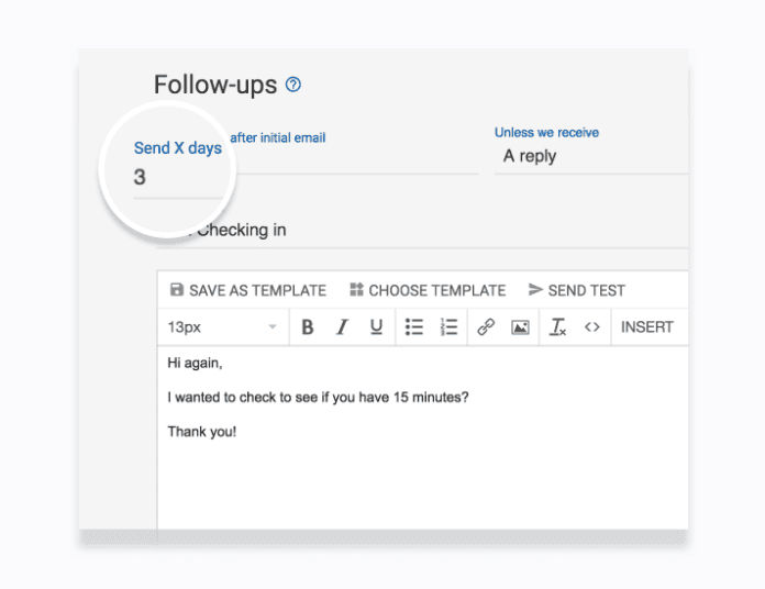 mailshake reach out follow up feature cold email influencer marketing