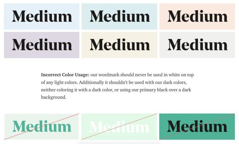 medium brand guide