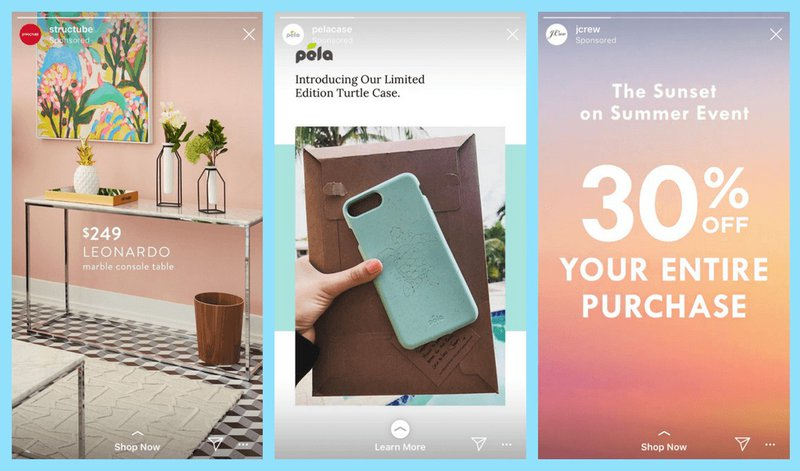 nikki x3 instagram story ad