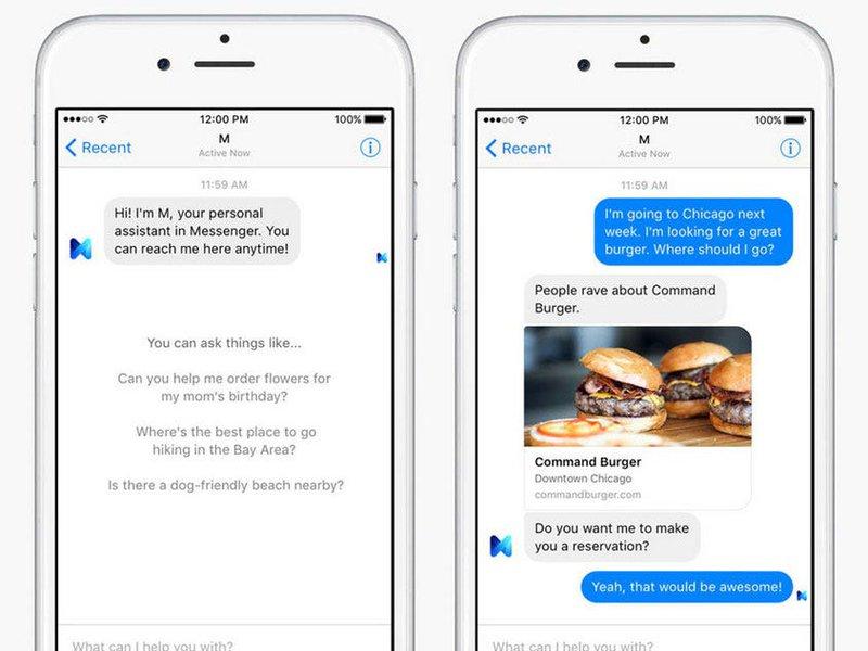 chatbot restaurant example