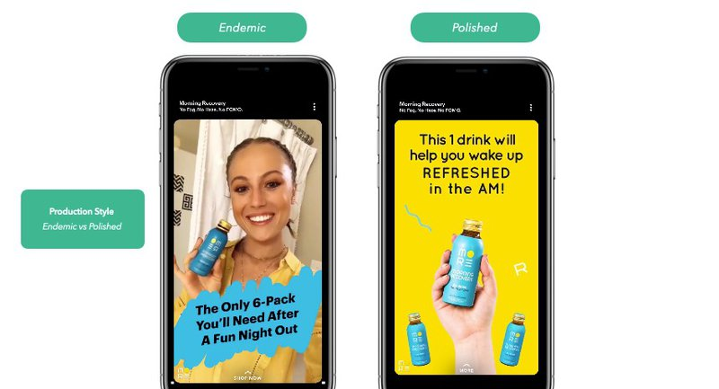 ecommerce ad examples on snapchat