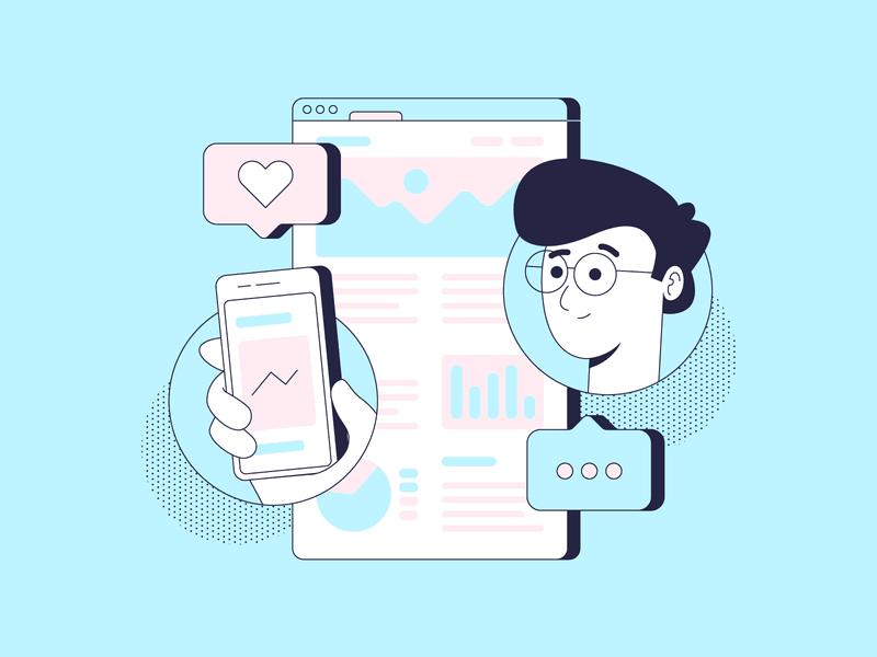 social media marketing plan example graphic